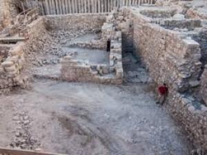 Resti di epoca asmonaica trovati nella Città di Davide (dicembre 2013)