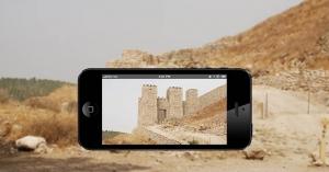 Un'applicazione smartphone per tours virtuali di siti archeologici