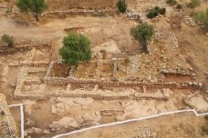 Palazzo di Re Davide scoperto a Khirbet Qeiyafa, nella Shefela